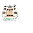 Kontaktor 12V 400A Reversing