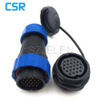 Csatlakozó SD28 24pin vízálló