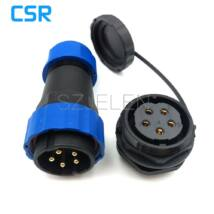 Connector SD28 5pin waterproof