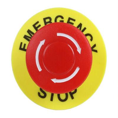 Emergency kapcsoló karima