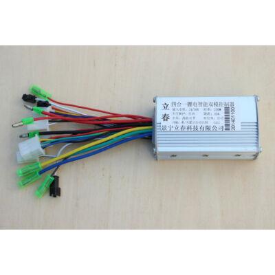BLDC Vezérlő 24V 15A 250W